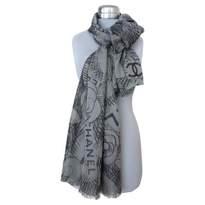 Chanel Sjaal van kasjmier en zijde
