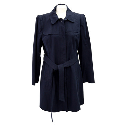 Hobbs Coat in dark blue