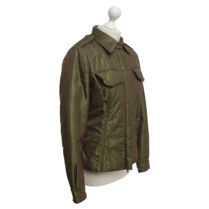Roberto Cavalli Jacket in olive green