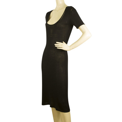 Dolce & Gabbana Black Knit Dress