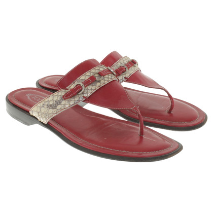 Tod's Sandals with details