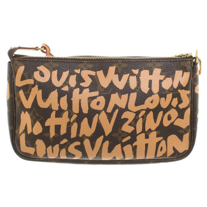 "Louis Vuitton ""Pochette Accessoires Monogram Grafitti"""