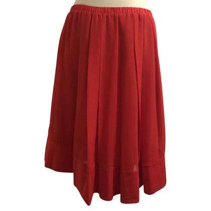 Schumacher Pleated skirt in red