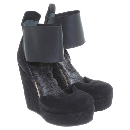 Pedro Garcia Wedges in black
