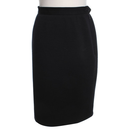 Saint Laurent jupe crayon noir