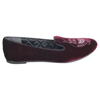Marc Jacobs Burgundy moccasins