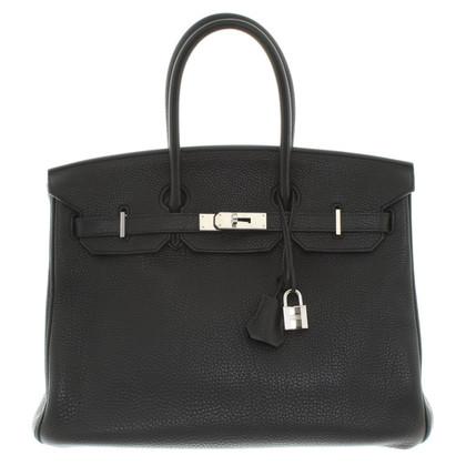 """Hermès """"Birkin Bag 35"""" in Schwarz"""