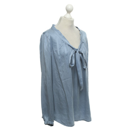 0039 Italy Blouse in light blue