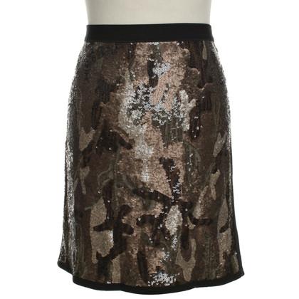 Marc Cain Sequin skirt in black