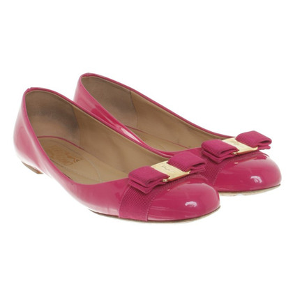 Salvatore Ferragamo Ballerina made of patent leather