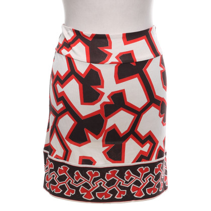 Diane von Furstenberg skirt with pattern