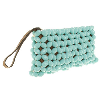 Marni clutch in Turquoise