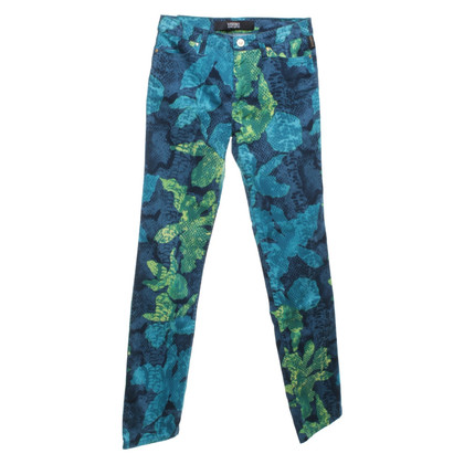 Versace trousers with animal print