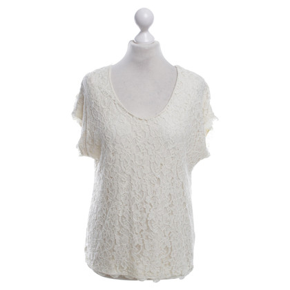 Diane von Furstenberg Top-top in cream