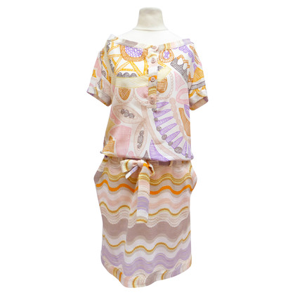Missoni Summer dress with material mix