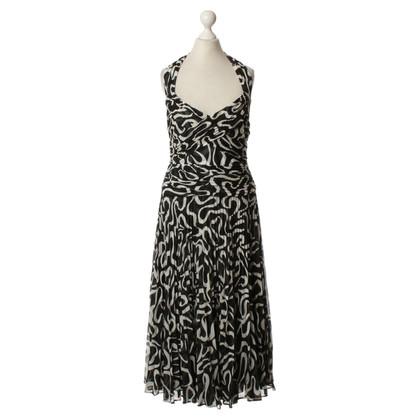Escada Dress in black and white