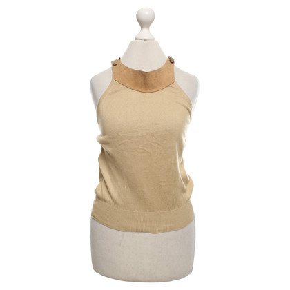 D&G Top in ocher