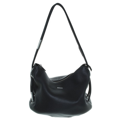 """DKNY """"Tribeca Soft Tumble Shoulder Bag"""" in Schwarz"""