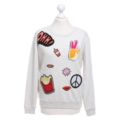 Maison Scotch Sweatshirt with patches