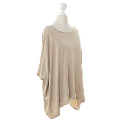 By Malene Birger Oversized Top in Beige