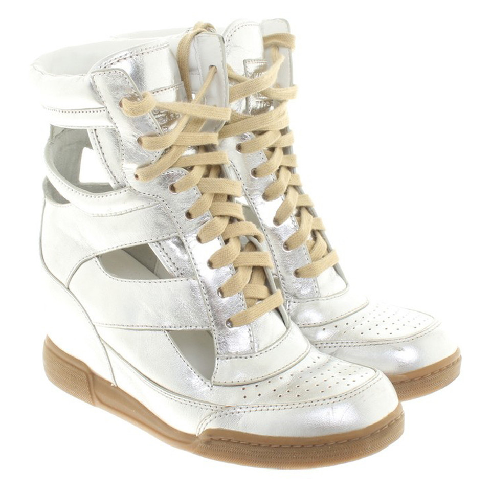 Marc Jacobs Sneaker in Silber