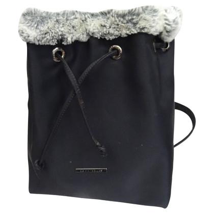 Coccinelle Bag with faux fur