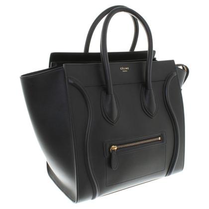 "Céline ""Mini Luggage Bag"" in black"