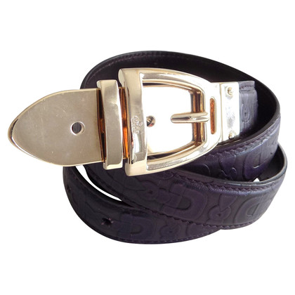 Gucci Belt with gold buckle