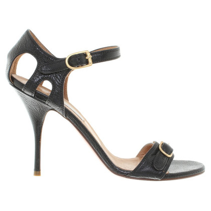 L'autre Chose Sandals in Black