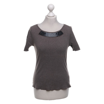 Schumacher T-shirt in brown