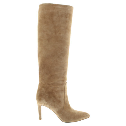 Gianvito Rossi Leather boots in beige