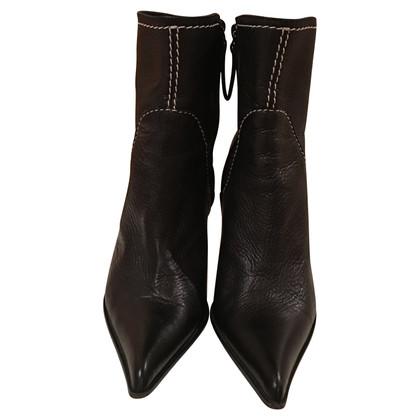 Giuseppe Zanotti Black stiletto ankle boots