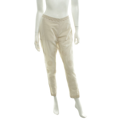 Twin-Set Simona Barbieri trousers in beige