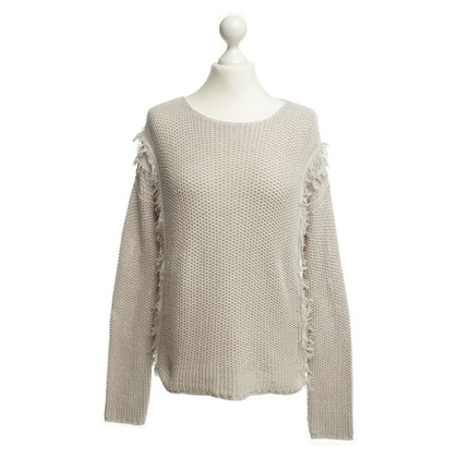 Drykorn Knit sweater with fringes