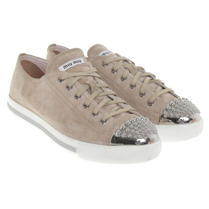 Miu Miu Sneakers in beige