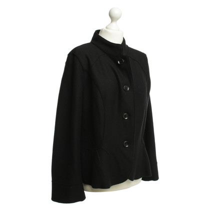 Marc Cain zwart wol jas