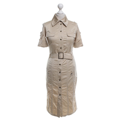 Karen Millen Kurzärmeliges Kleid in Beige