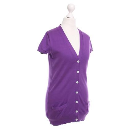 Ralph Lauren -Violet gekleurde korte mouwen vest