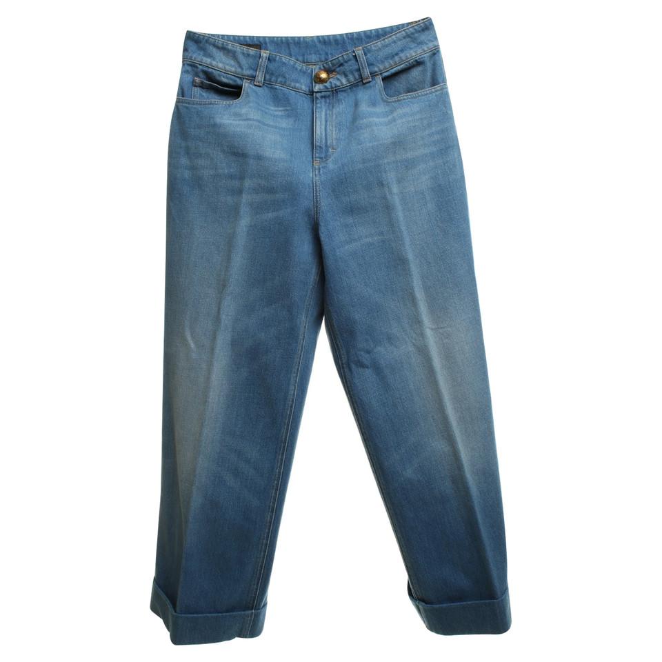 gucci jeans in blau second hand gucci jeans in blau. Black Bedroom Furniture Sets. Home Design Ideas