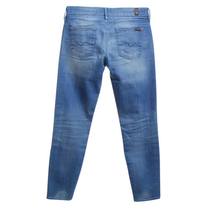 7 For All Mankind Jeans mit Waschung