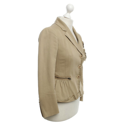 Moschino Cheap and Chic Blazers in beige
