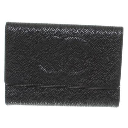 Chanel Portafoglio in pelle con Logosteppung
