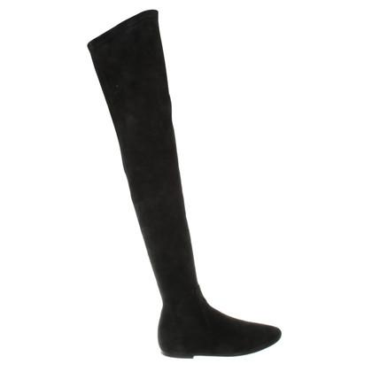 Isabel Marant Etoile stivali alla coscia in nero