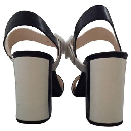 Prada Black&White sandals