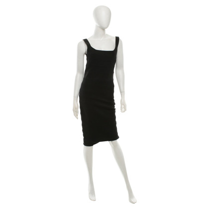 Diane von Furstenberg Strap dress in black