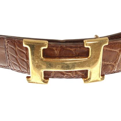 Hermès Gürtel in Braun