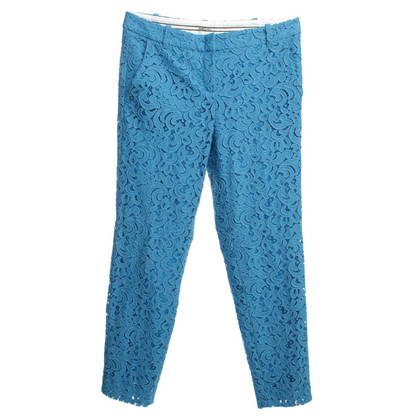 Marc Cain Kant broek in blauw