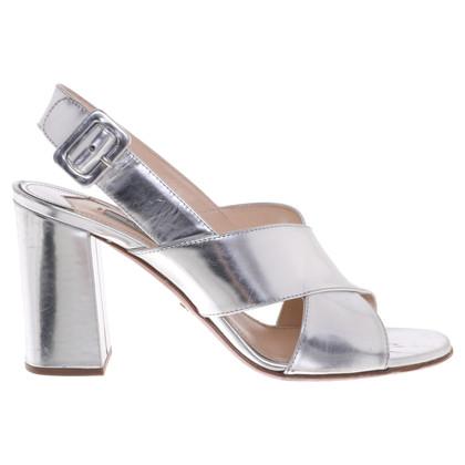 Prada Sandals in silver