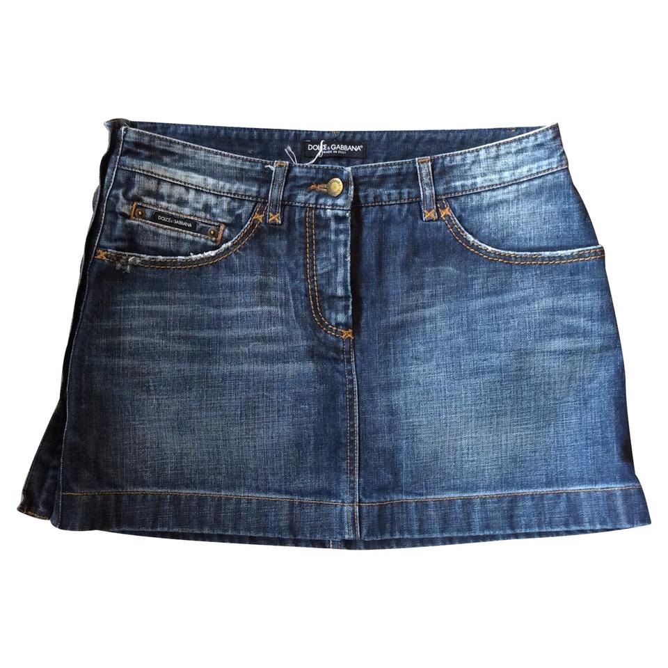 D&G denim skirt
