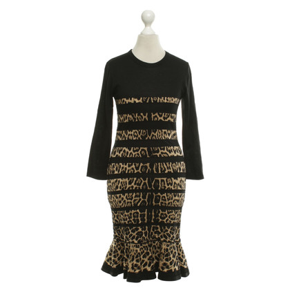 Roberto Cavalli Black dress with inserts
